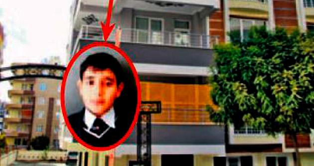 Anahtarını unutan genç 7'nci kattan düşüp öldü