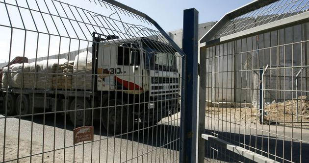İsrail sınır kapılarını açtı