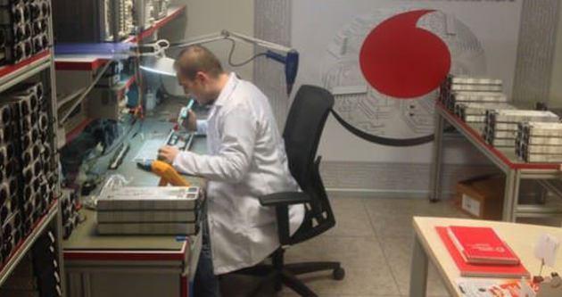 Vodafone'dan yerli onarım atağı
