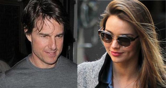 Miranda Kerr ile Tom Cruise aşk yaşıyor iddiası