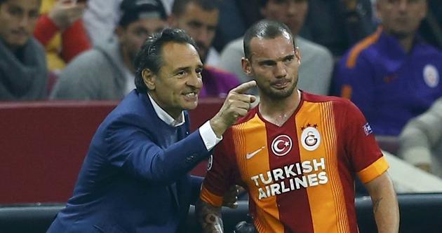 Sneijder'den Prandelli'ye sulu tepki!