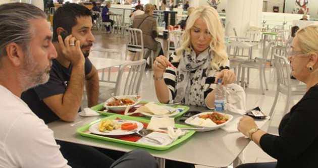 Seda Sayan'a acil yemek takviyesi