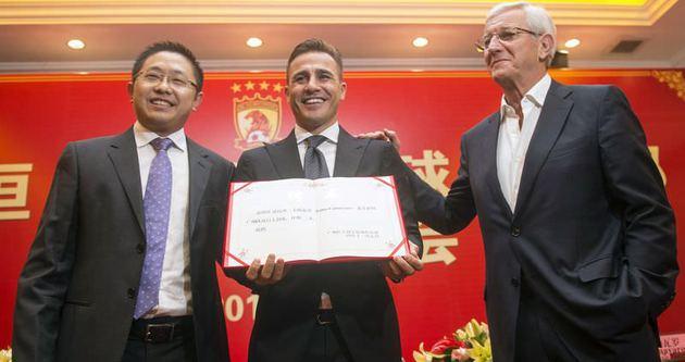 Cannavaro, Guangzhou'da