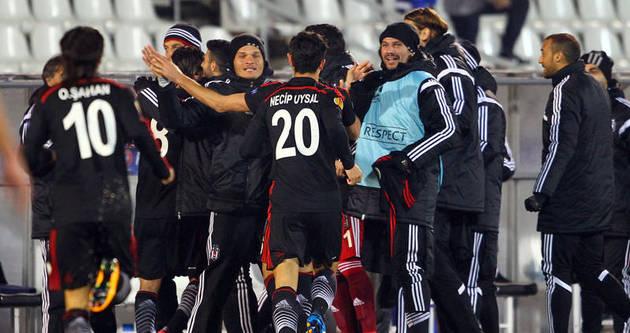 Beşiktaş Avrupa'da avantaj peşinde