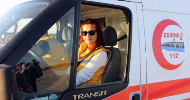 Kadın sürücüler hayat kurtarıyor