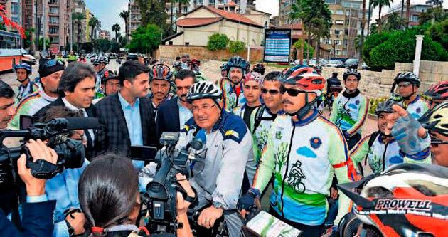 Uluslararası pedallar Mersin'de çevrilecek