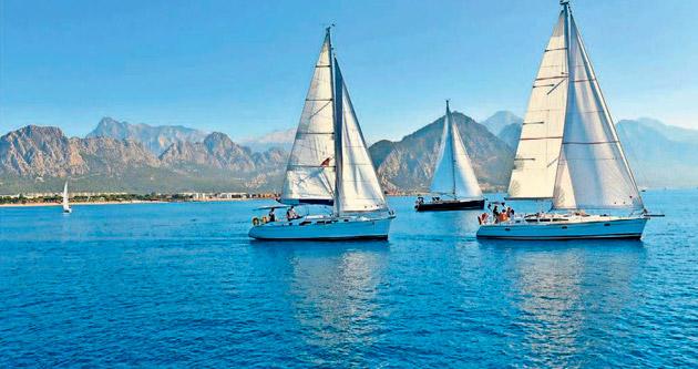 Yat ve yelkenler Ata için yarışacak