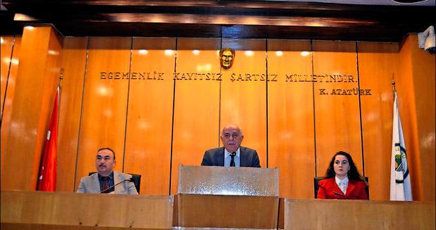 Belediye Meclisi 5 maddeyi görüştü