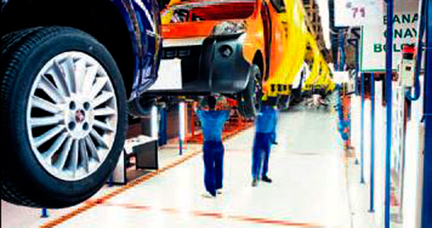 Otomotiv sektörü ekimde düzlüğe çıktı