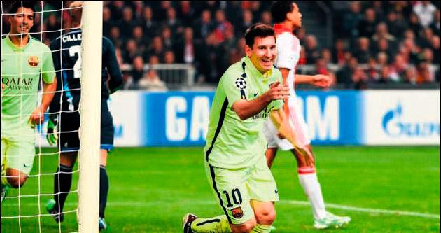 Tarİh yazıcı Lionel Messi