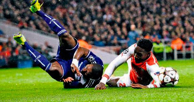 Çoluk çocukla Arsenal'i 3'lediler