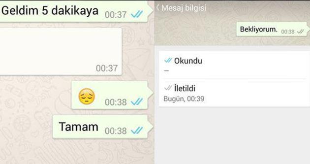 WhatsApp'ta 'görmedim' dönemi sona erdi