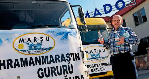 MADO'nun su ihracatı 200 bin tonla başladı