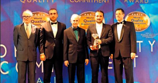 Uluslararası İnovasyon Ödülü YDÜ'ye verildi