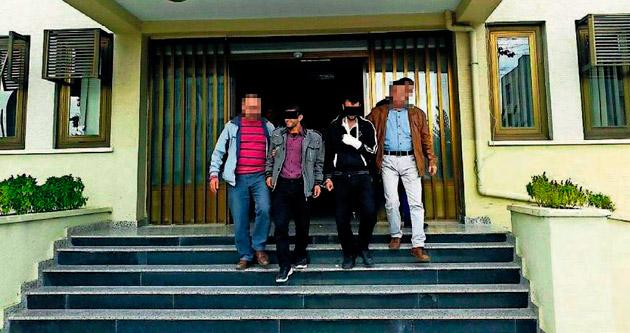 Tarsus'ta 2 hırsız 3 saatte yakalandı