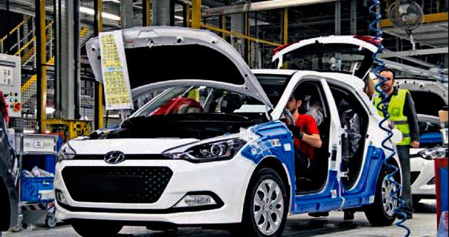 Hyundai, İzmitli i20'nin seri üretimine başladı