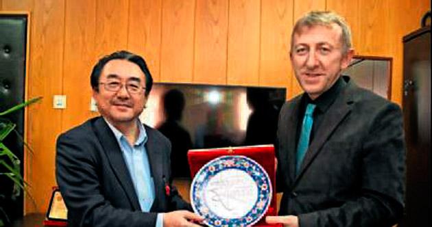 Prof. Hamada'dan SDÜ'ye ziyaret