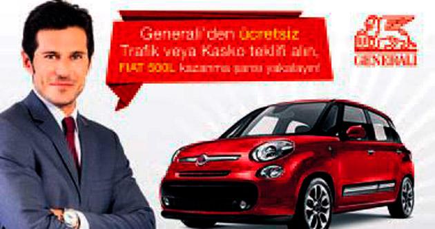 Generali Sigorta'dan FIAT 500L kazanma şansı