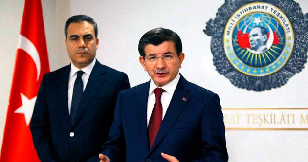 Davutoğlu MİT'e vizyonunu anlattı