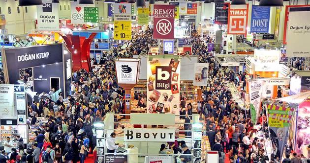 33. Uluslararası İstanbul Kitap Fuarı başlıyor