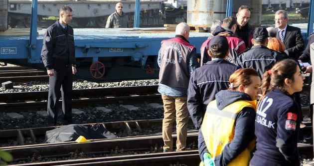Trenin altında can verdi