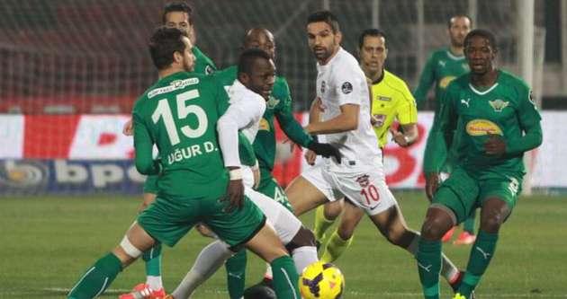 Gaziantepspor tek golle üç puanı kaptı