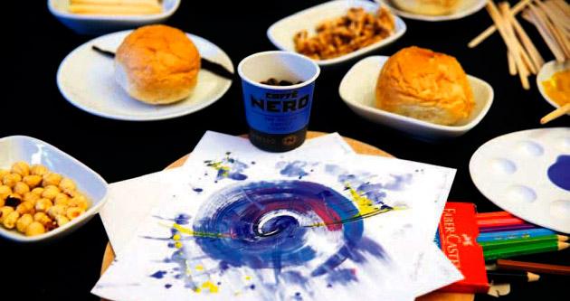 Kahve ile sanatın buluşması