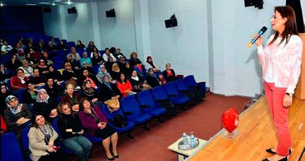 Hanımlara sağlık semineri verildi