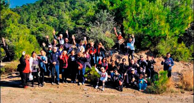 Menderes'te doğa yürüyüşleri revaçta