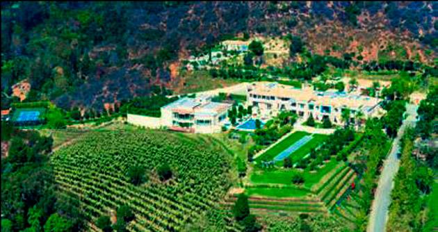 ABD'nin en pahalı evi 195 milyon dolar