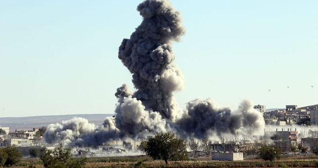 Kobani çatışmaları sınırda yoğunlaştı