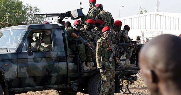 Sudan Cumhurbaşkanlığı Sarayı'nda silah sesleri duyuldu