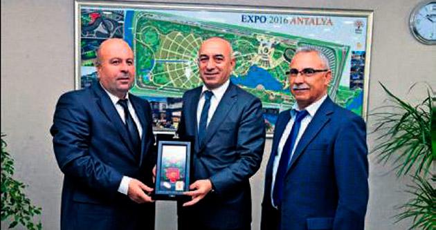 Perge'de EXPO ile görüş birliği