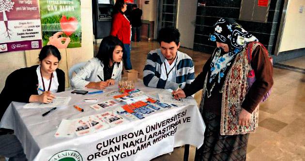 ÇÜ Balcalı'ya organ standı