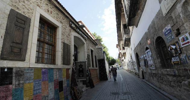 Surlar arasındaki eski şehir