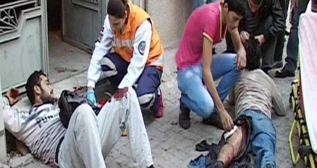 Suriyelerin kavgası kanlı bitti