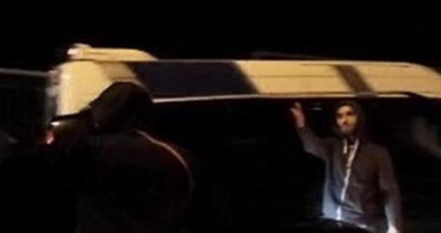 İstanbul Şişli'de bahşiş terörü kamerada