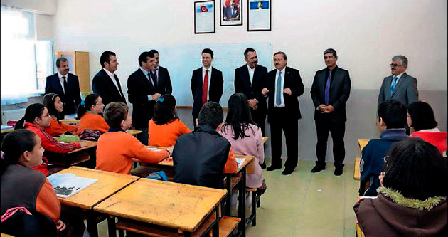 Başkan Canural'dan öğrencilere nasihat