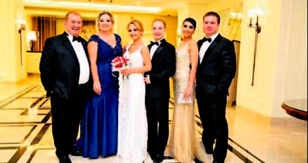 Akman'lar Bilkent'te dünya evine girdi