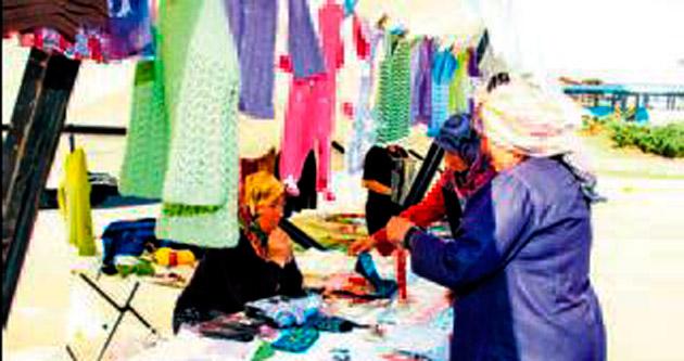 Ev ekonomisine kadın desteği