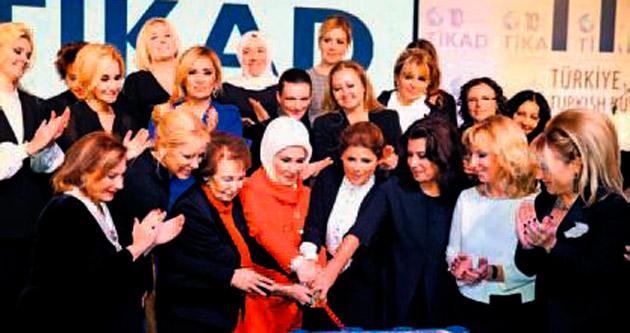 'Kadın, barışın kahramanı'