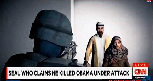 CNN, Obama'yı Bin Ladin'le karıştırdı
