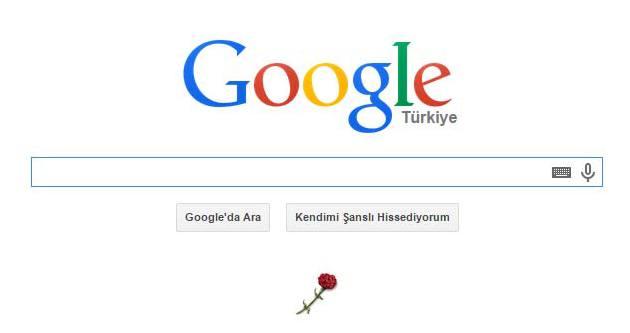 Google, 10 Kasım'ı karanfille andı