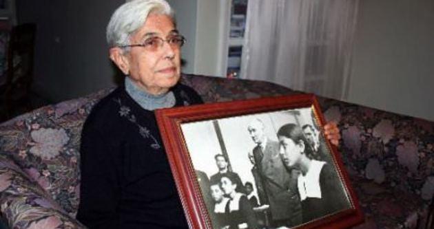Atatürk'ün canlı tanığı 10 Kasım'ı unutamıyor