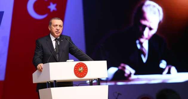 Erdoğan: 'Yeni Türkiye' tabirini ilk kez Atatürk kullandı