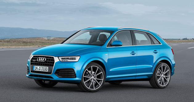 2015 Audi Q3 kendini gösterdi