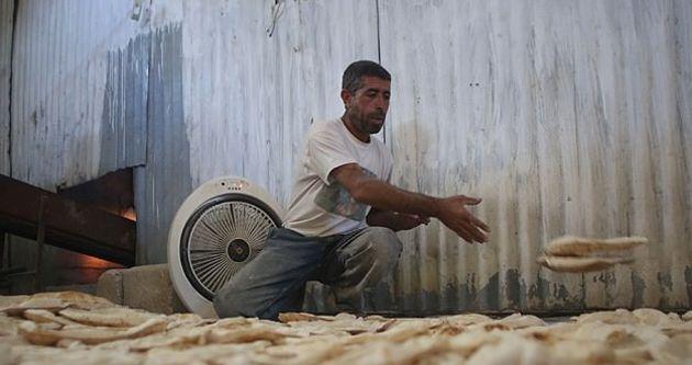Kobani'nin tek ekmek fırını