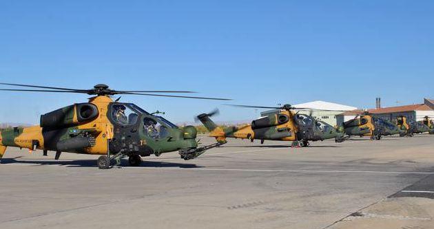 5 ATAK helikopteri Malatya'da