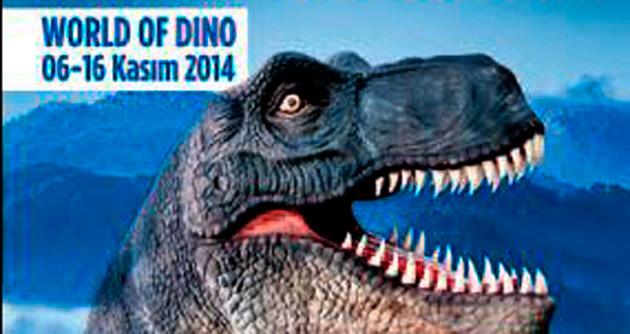 Dinozorlar Dünyası Park Vera'da açıldı