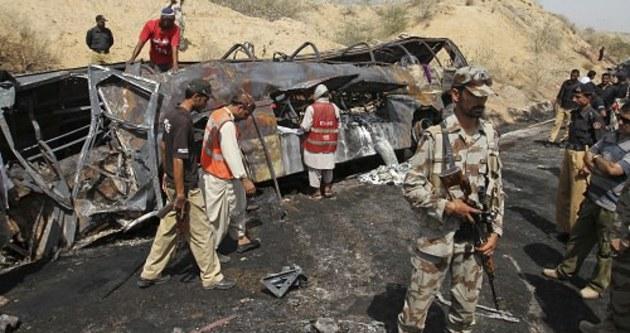 Pakistan'daki kazada 50 ölü